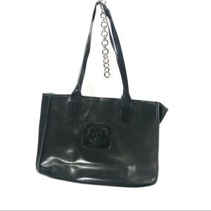 Ghurka no 71 black leather classic tote